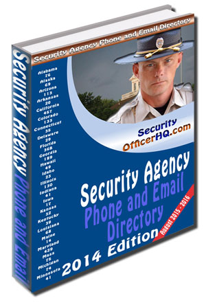 Security Agency Phone and Email Directory