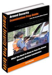 Armed Security Guard Test Prep