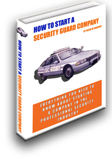 How To Start A Security Guard Company Book Cover