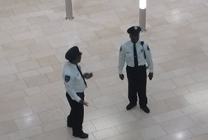 Officers Talking