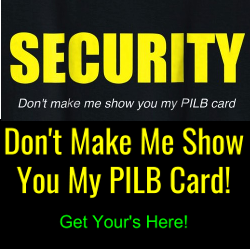 PILB guard card shirt