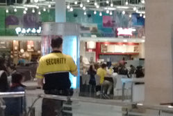 Food Court Security Guard
