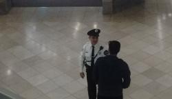 Security Guard at Night