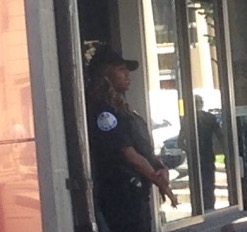 A G4S Officer Near Dupont Circle